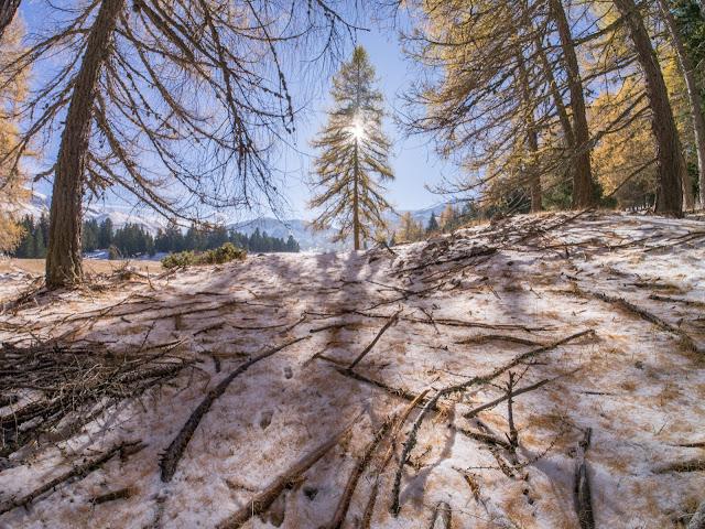 Dans le Dévoluy, photographie HDR objectif Samyang 7,5 mm