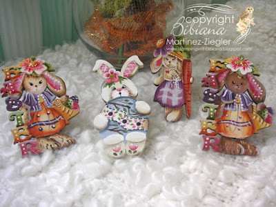 Easter Bunny Pins group