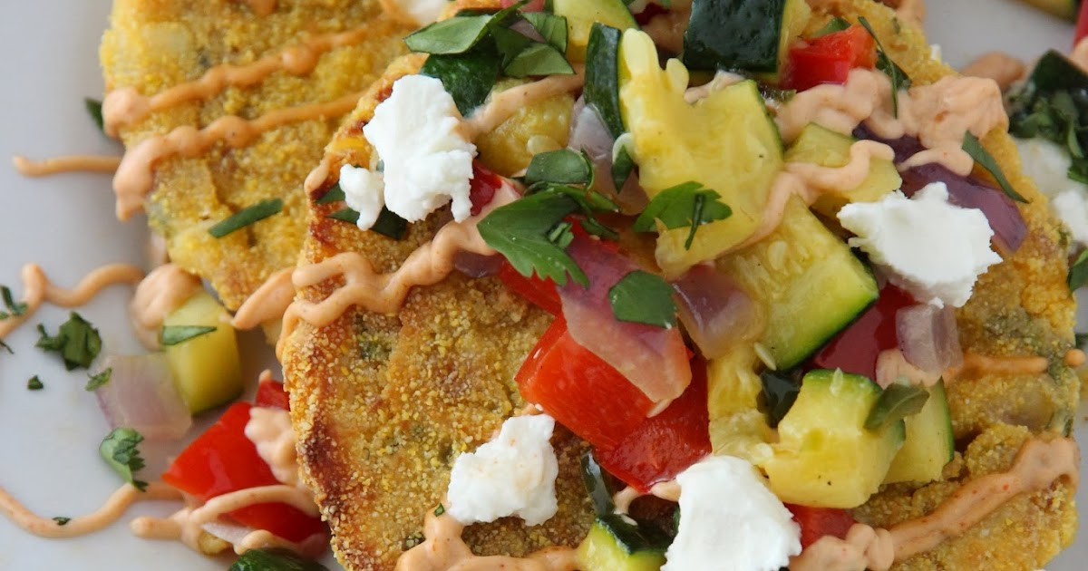 gingersnaps: Chipotle Corn Cakes with Goat Cheese and ...