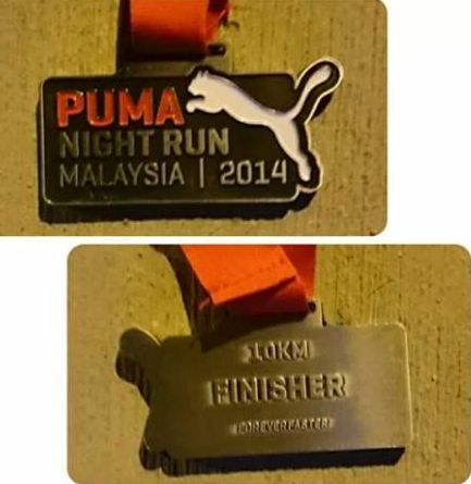 Klang Pacers Athletic Club: [RESULT] Puma Night Run 2014