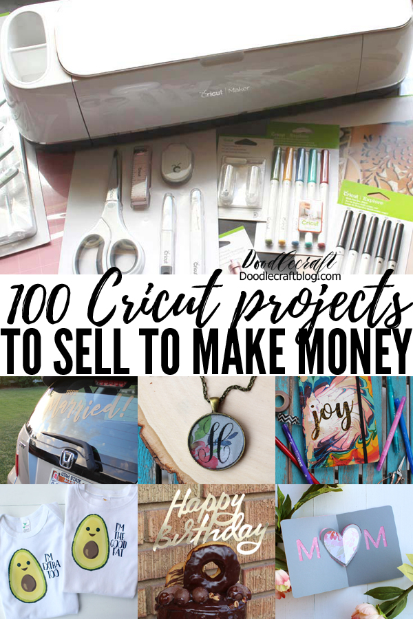 Featuring 100 projects to make and sell for extra income from home.