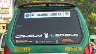 Angkot Bandung Jurusan Cicaheum - Ledeng