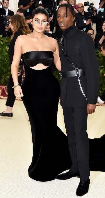 Kylie Jenner & Travis Scott Make Red Carpet Debut At Met Gala 2018 - Image ~ Naijabang