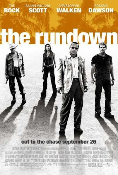Poster Of The Rundown 2003 720p Hindi BRRip Dual Audio Full Movie Download