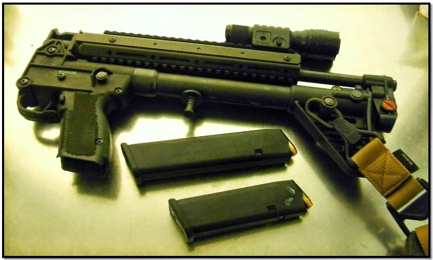A loaded folding-stock rifle with two loaded magazines was discovered in a carry-on bag at Dallas/Fort Worth International Airport (DFW).