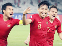 Garuda Muda Raih Poin Penuh Dilaga Perdana AFC U-19