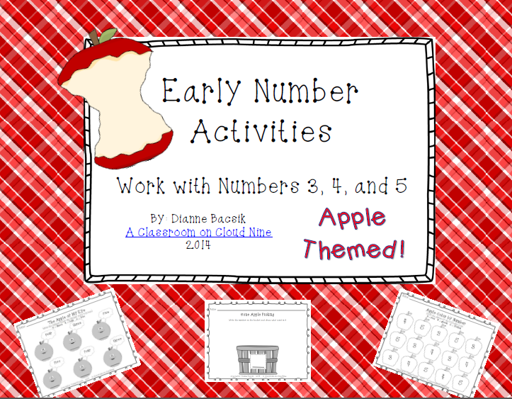 http://www.teacherspayteachers.com/Product/Early-Number-Activities-Working-with-Numbers-3-4-5-1378547
