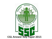 SSC CGL Tire 1 Answer Key 2015 Question Paper