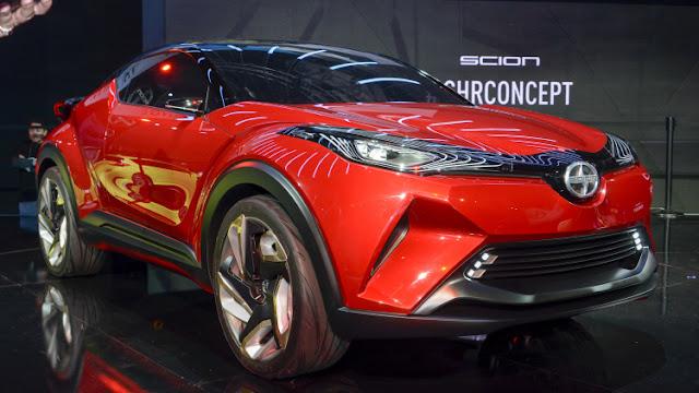 Toyota Scion CHR Concept