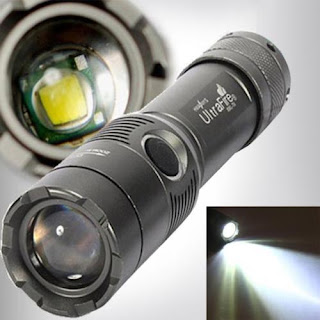 3000Lm UltraFire CREE XML T6 LED Zoomable 18650 AAA Flashlight Torch Light Lamp