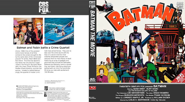 Batman (1966) Bluray Cover