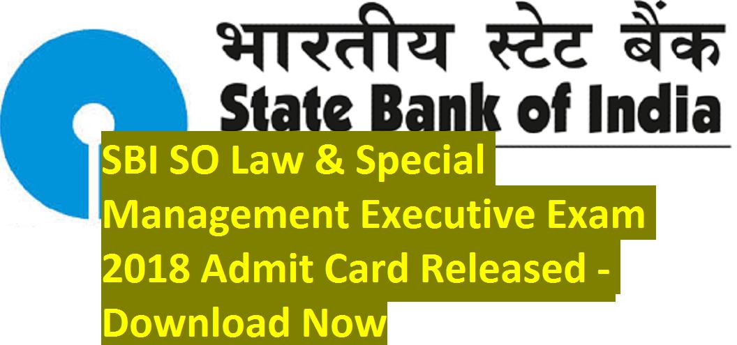 sbi clerk admit card download date 2018