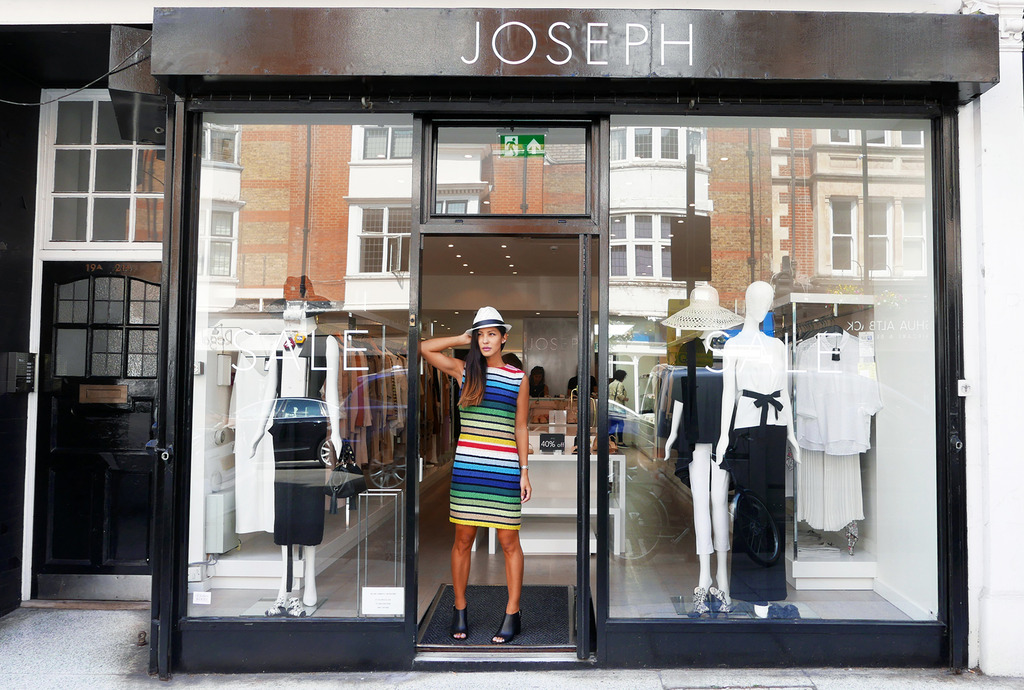 Euriental | fashion & luxury travel | Farfetch London boutique visit, Joseph, Twenty One boutique