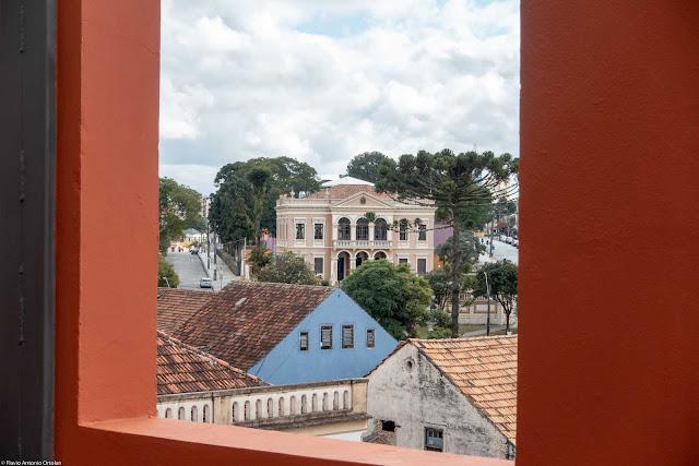 Vista da Sociedade Garibaldi a partir do Mirante Marumbi
