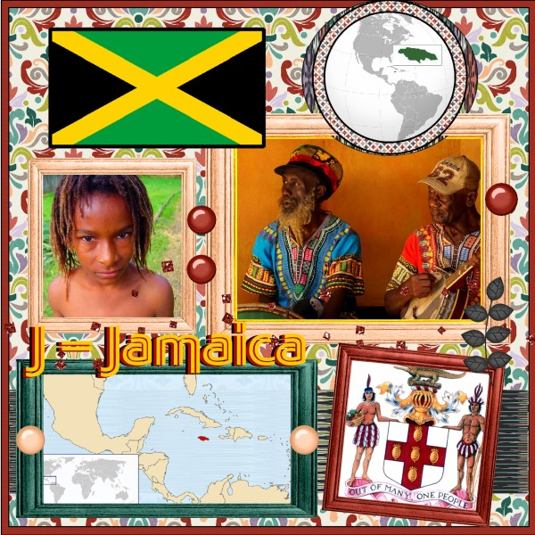 Oct. 2016 - J = Jamaica - 1