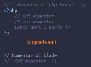 Tutorial Templating Blade pada Laravel