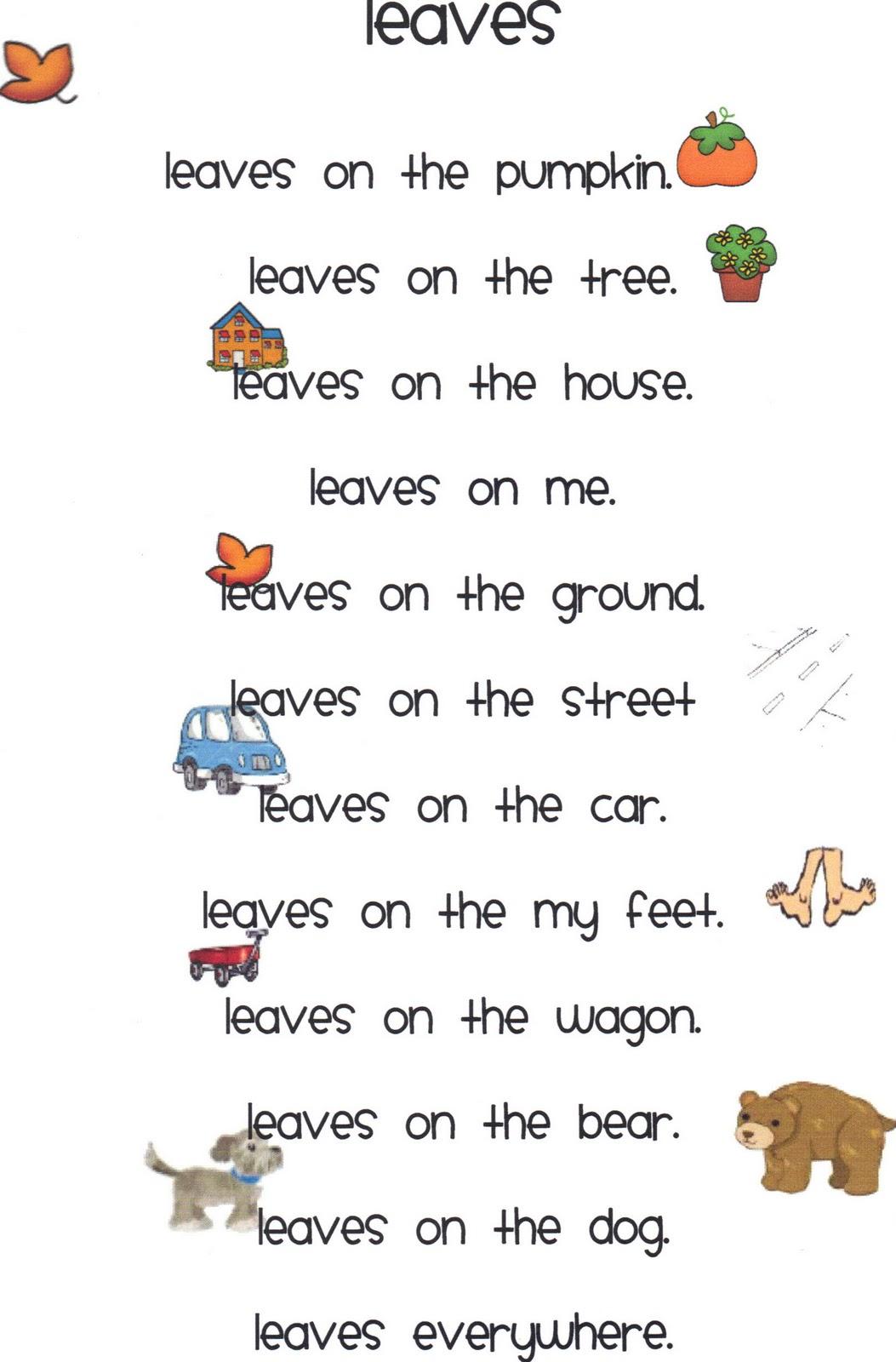 The Revolting Autumn Poem