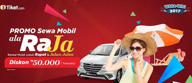 Dapatkan Promo Sewa Mobil di Tiket.com