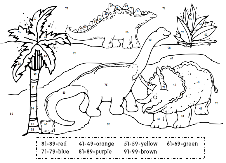 1st grade learning stars dino color by numbers. Black Bedroom Furniture Sets. Home Design Ideas