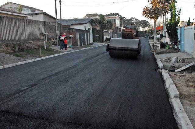 21 ruas serão asfaltadas no Jardim Eucaliptos