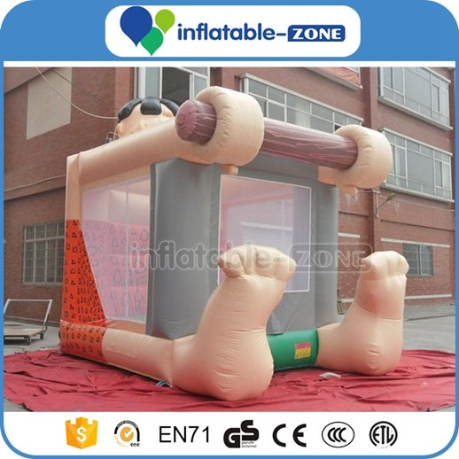 inflatable jumping caslte,oxford cloth jumper house,inflatable amusement park