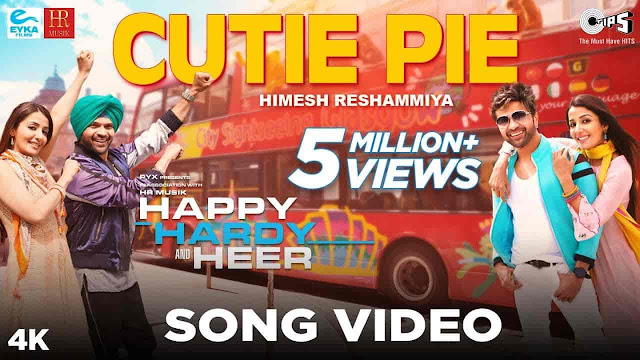 Cutie Pie Lyrics - Happy Hardy And Heer | Himesh Reshammiya