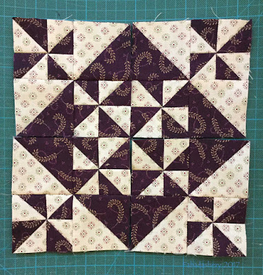 Hidden Gems Quilt - Scraphappy with Purple