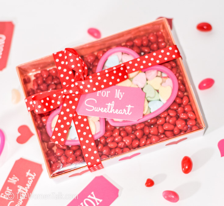 Diy Valentine Heart Shaped Candy Gift Box Diy Crafts Recipes