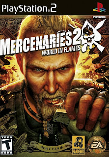 Mercenaries 2 - Word in Flames (PS2) 2008