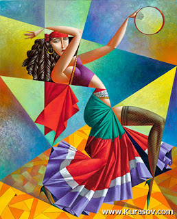 cuadros cubismo pintor ruso