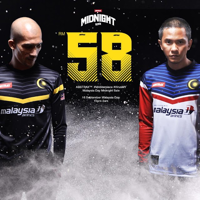 Jersey Abstrax™ Malaysia airline