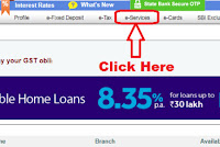 how to transfer sbi account to another branch online