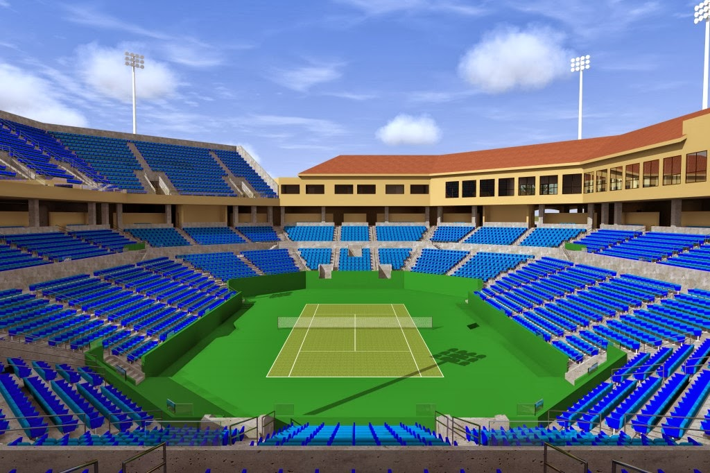 wta tennis comentada por javier: new stadium 2. bnp