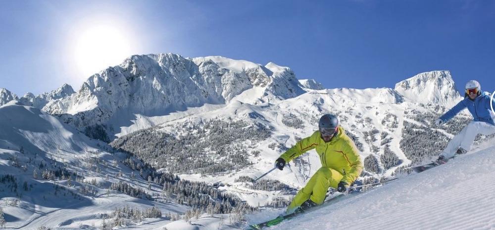 Nassfeld, narty w Nassfeld, Austria, Narty w Austrii, Alpy, punkt widokowy Nassfeld Cinema, hotele w Nasfeld, atrakcje Nasfeld, Podróże,