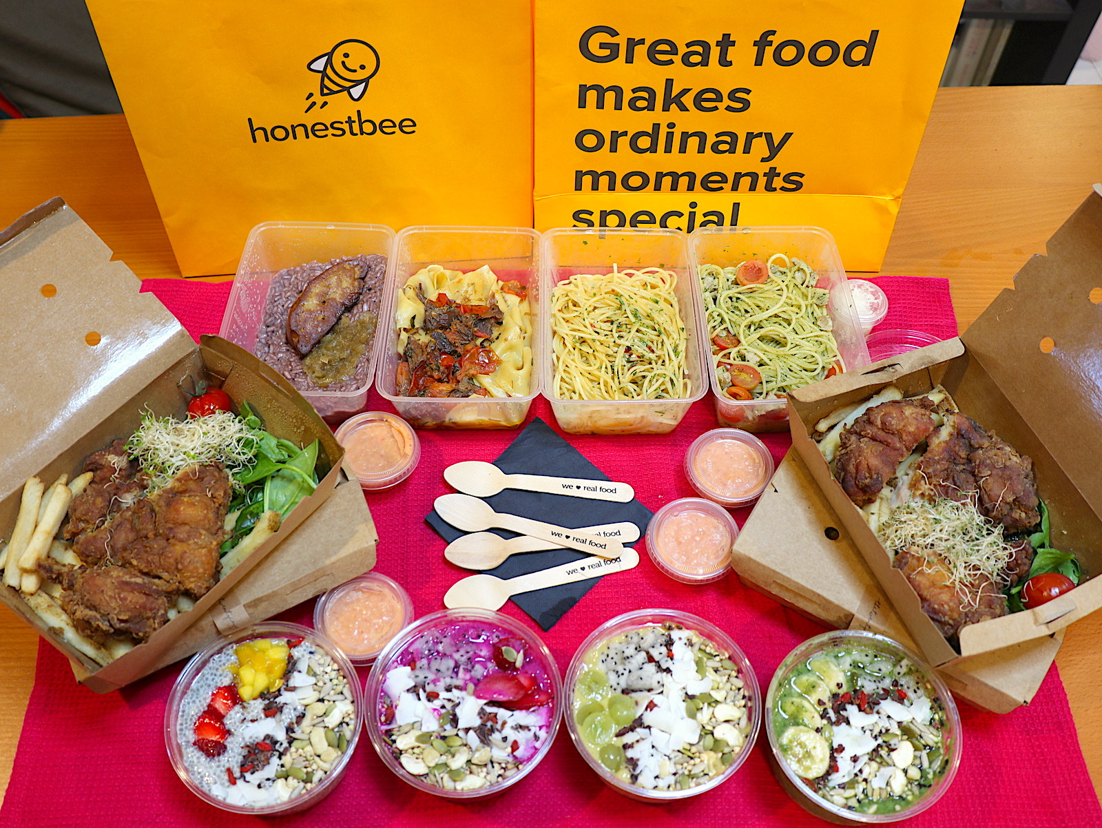 Honestbee 2nd anniversary: 1 for 1 food promo and $18 off plus free