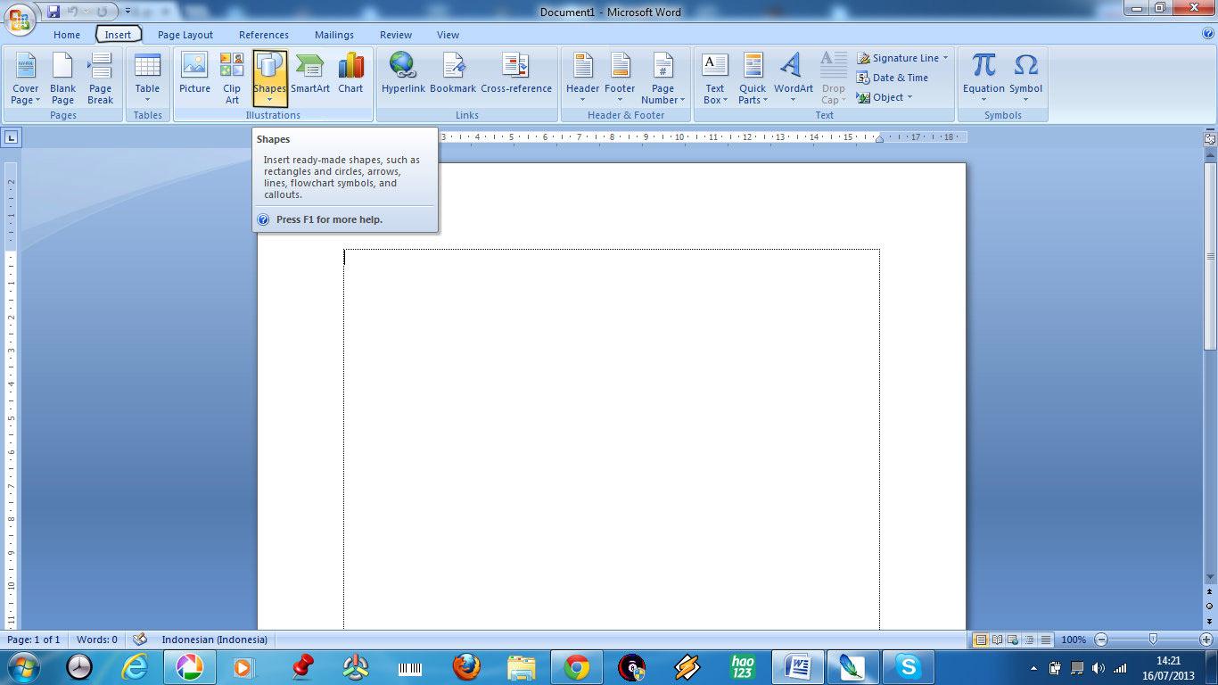 cara menyisipkan clipart pada microsoft word 2007 - photo #22
