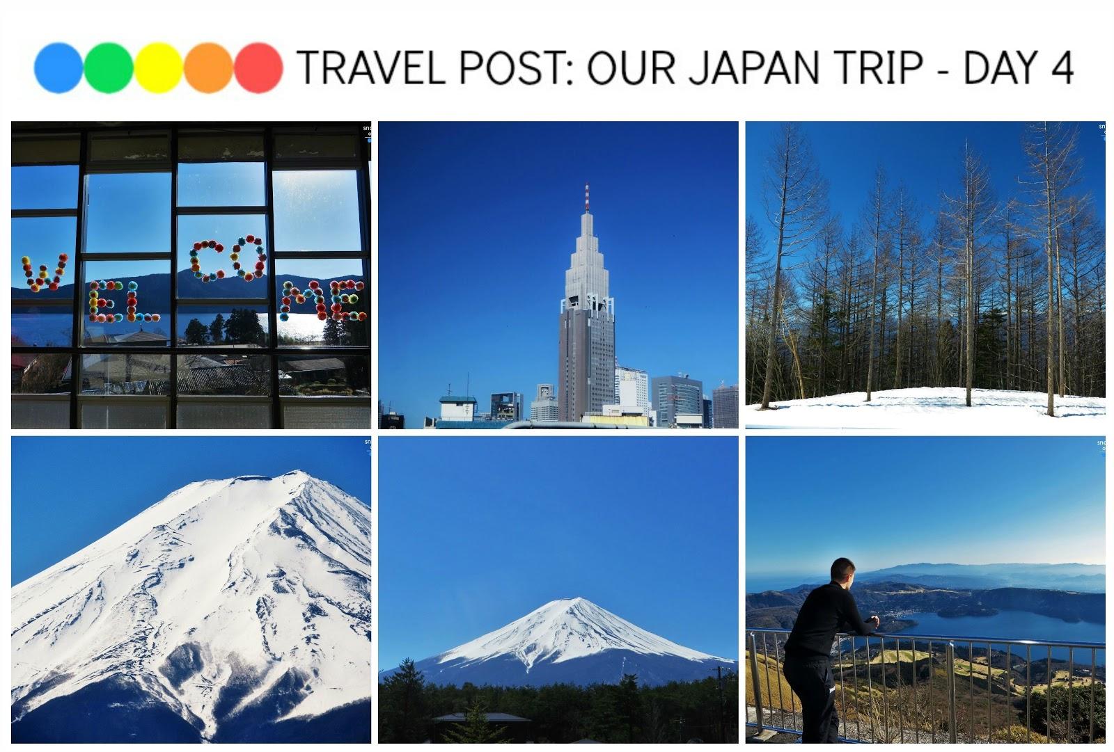 Travel post: Our Japan Trip - Day 4 (Mt Fuji, Lake Ashi, Mt Komagatake, Hakone National Park)