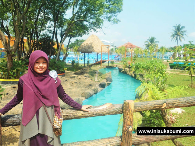 Amazon River (Kolam Arus ) Santasea Waterpark Sukabum