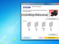 Cara Terbaru dan Terbukti Berhasil Reset Epson T13X 'Service Required'