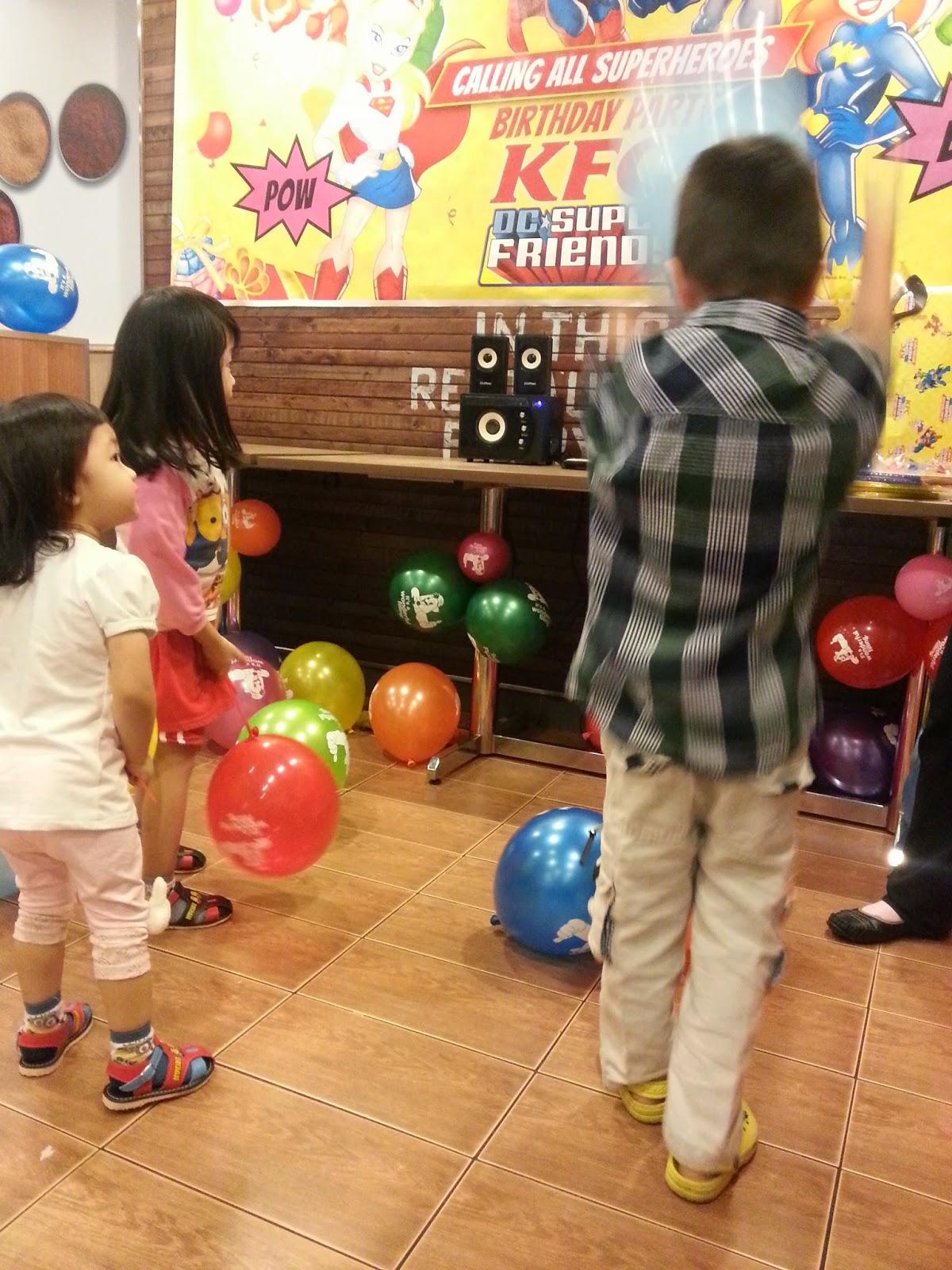 My girls Birthday Party @ KFC Aeon Big, Wangsa Maju ...