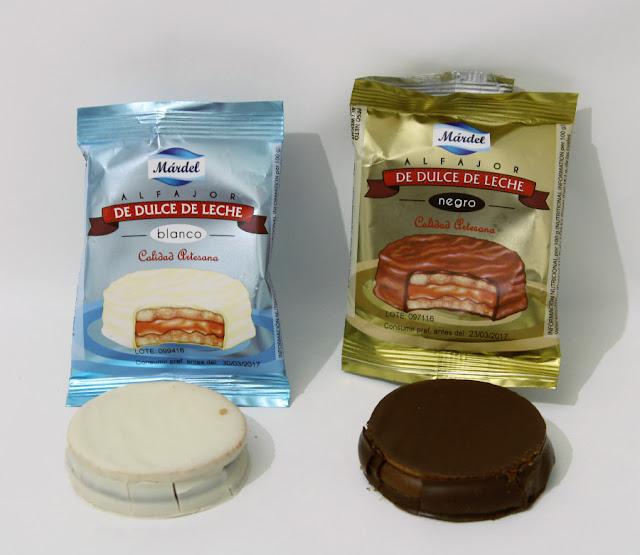 Alfajores de Dulce de leche Mardel