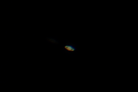 saturn with iphone