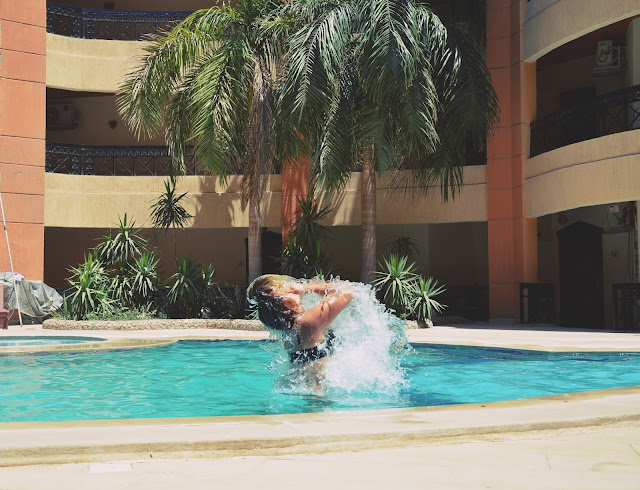 dzień na basenie | chill | POOL DAY