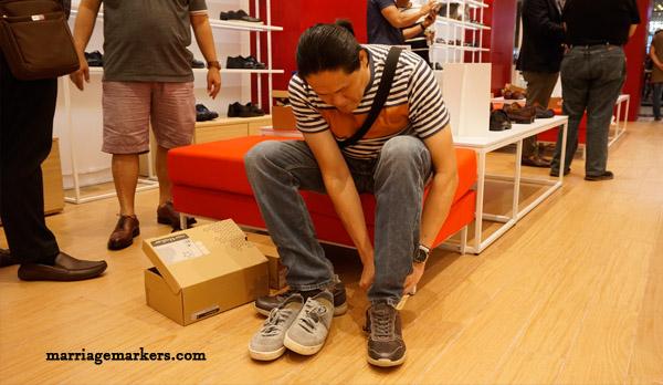 Bata Shoes - Bata Shoes for men - SM City Bacolod - Bata Shoes Bacolod - Bacolod blogger - shoe fitting