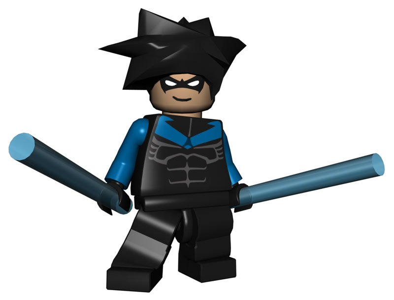 Nightwing Lego Batman 2 Minifigures | Lego Educational ...