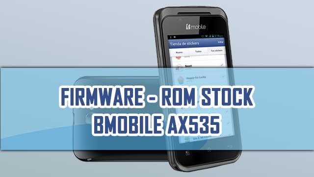 rom stock Bmobile AX535
