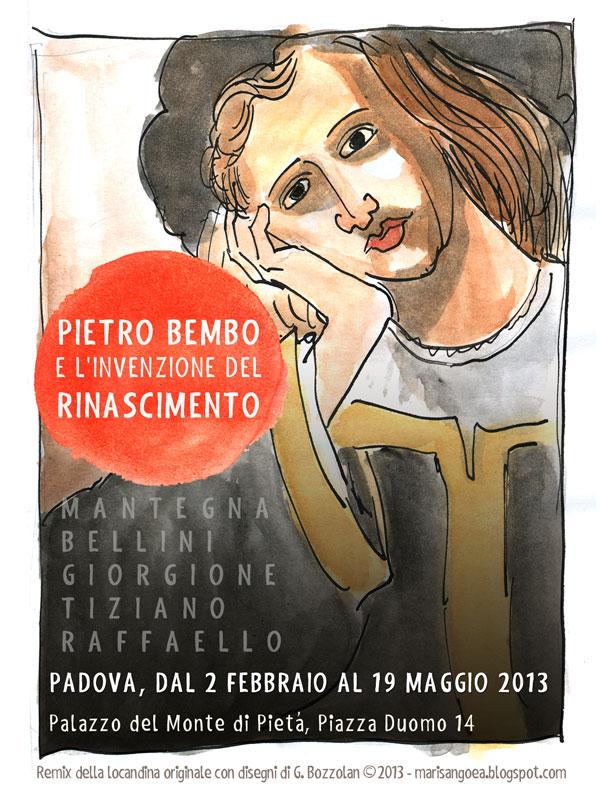 Pietro Bembo e l'invenzione del Rinascimento locandina Remix