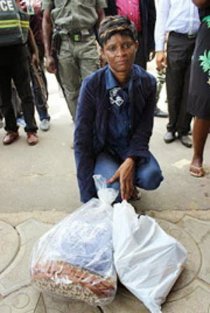 woman arrested parkview estate ikoyi