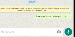 Cara membuat tulisan unik & menarik di Whatsapp (Tebal, miring, digaris tengah, zaman dulu) 5