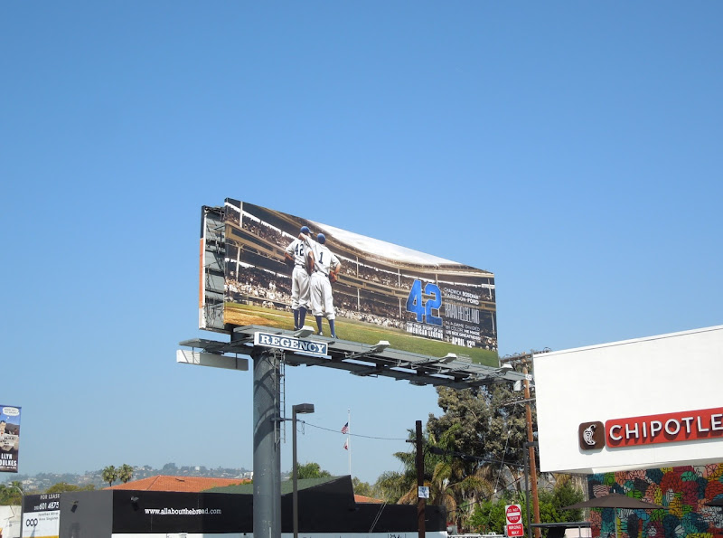 42 baseball stadium billboard